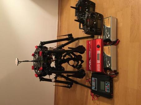 Dron DJI S900 + Spektrum DX9 + DX6 + Gimbal gh3/4