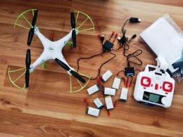 Dron Syma 5HW Pro+7 baterii